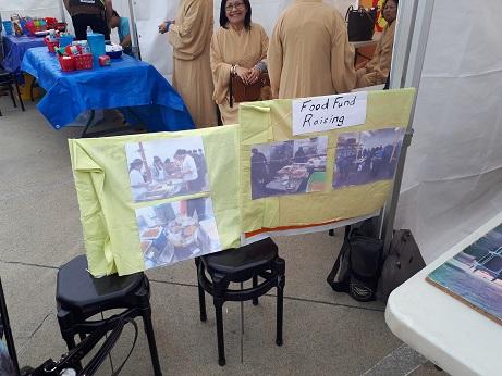 Food Fundraiser Display